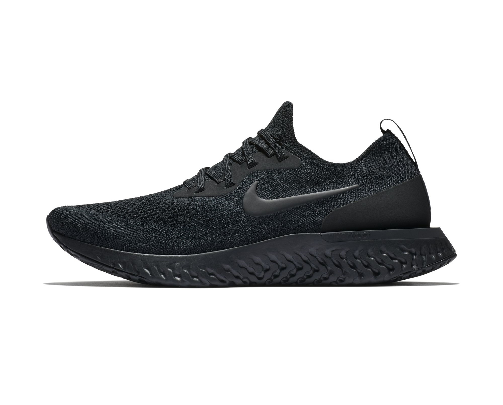 Epic React The Nike Epic React Flyknit 'Triple Black' Has Dropped Overseas ...