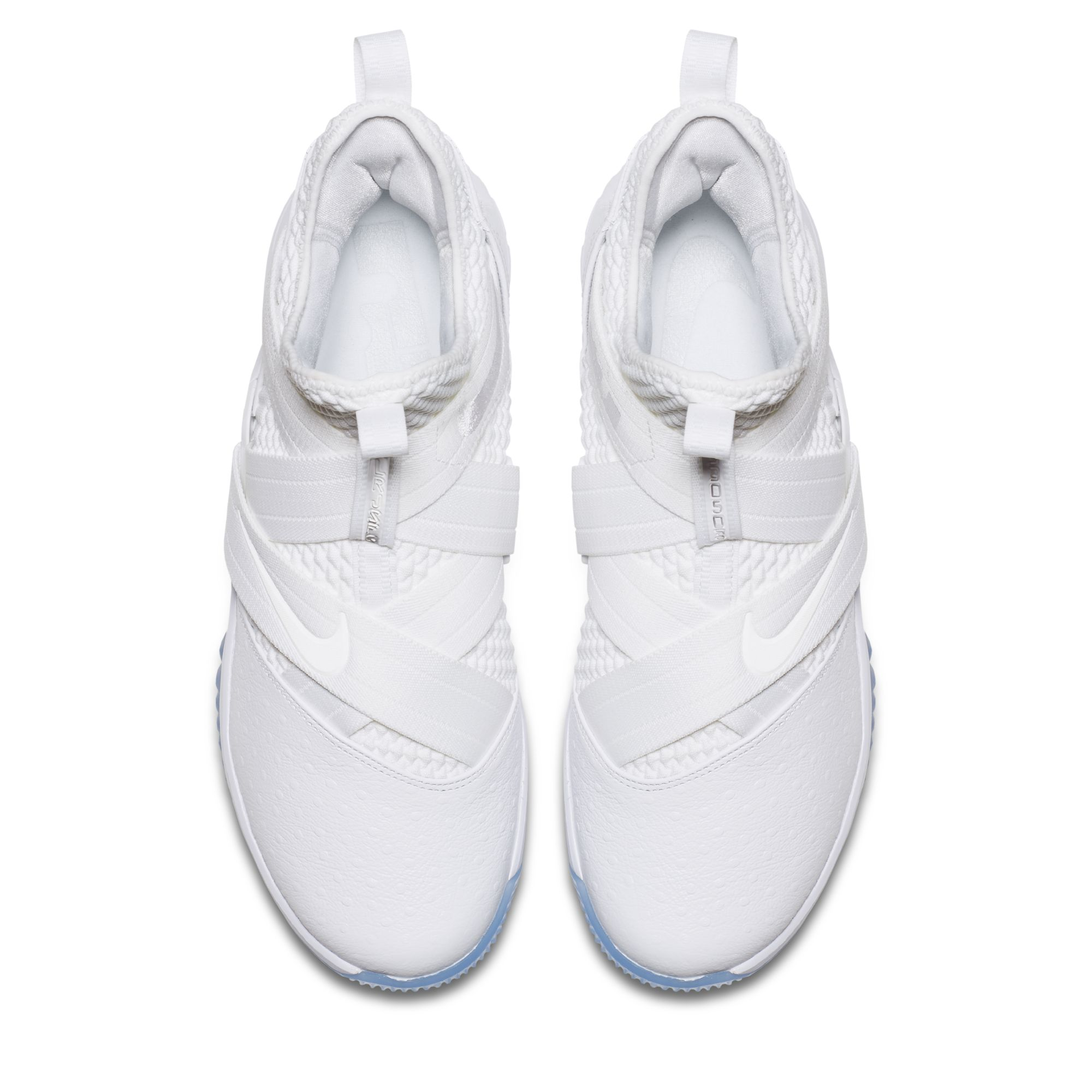 newest 9e071 77a8d The Nike LeBron Soldier 12 'Triple White' Releases Next ...