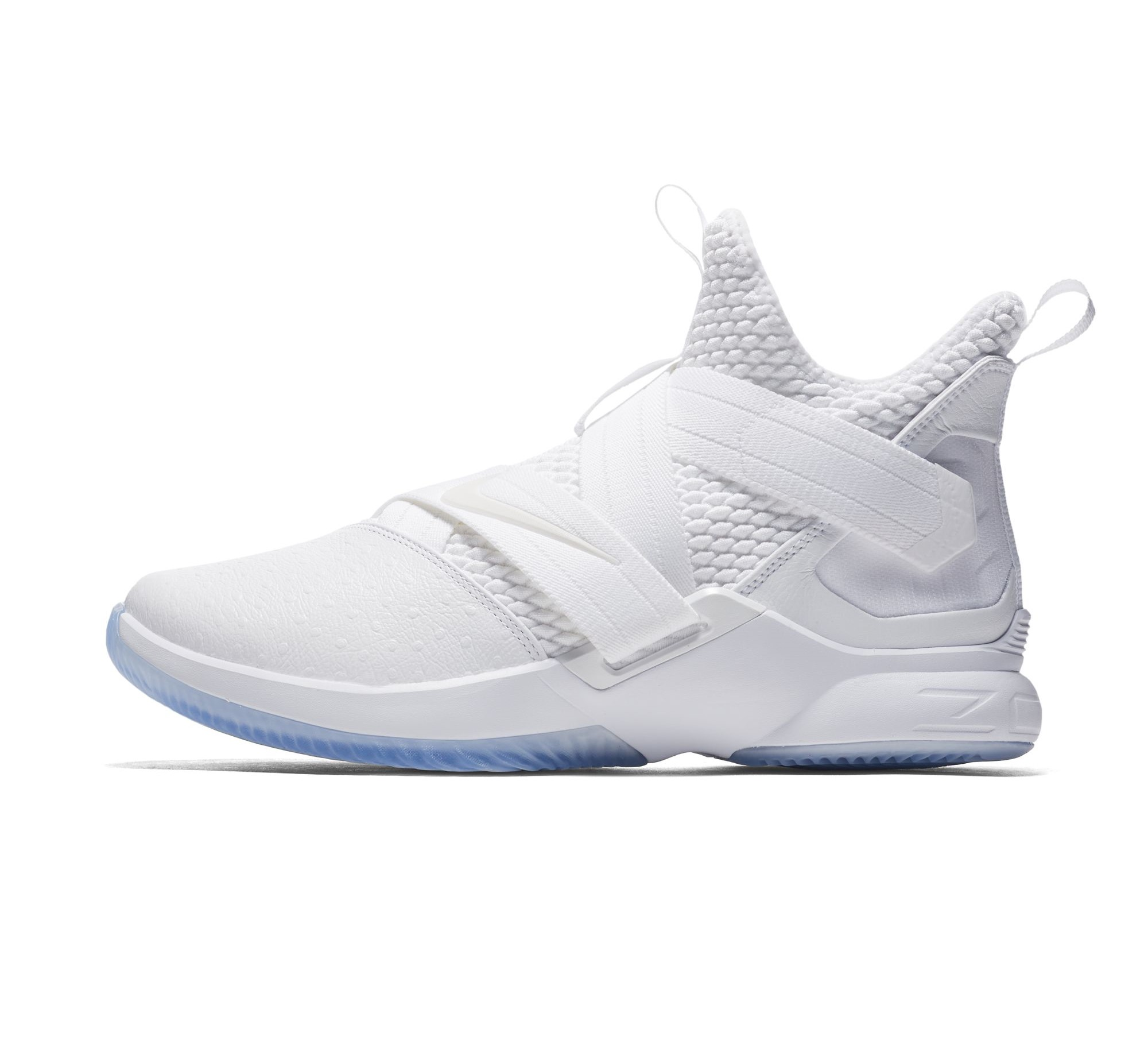 newest 55a29 aaadf The Nike LeBron Soldier 12 'Triple White' Releases Next ...