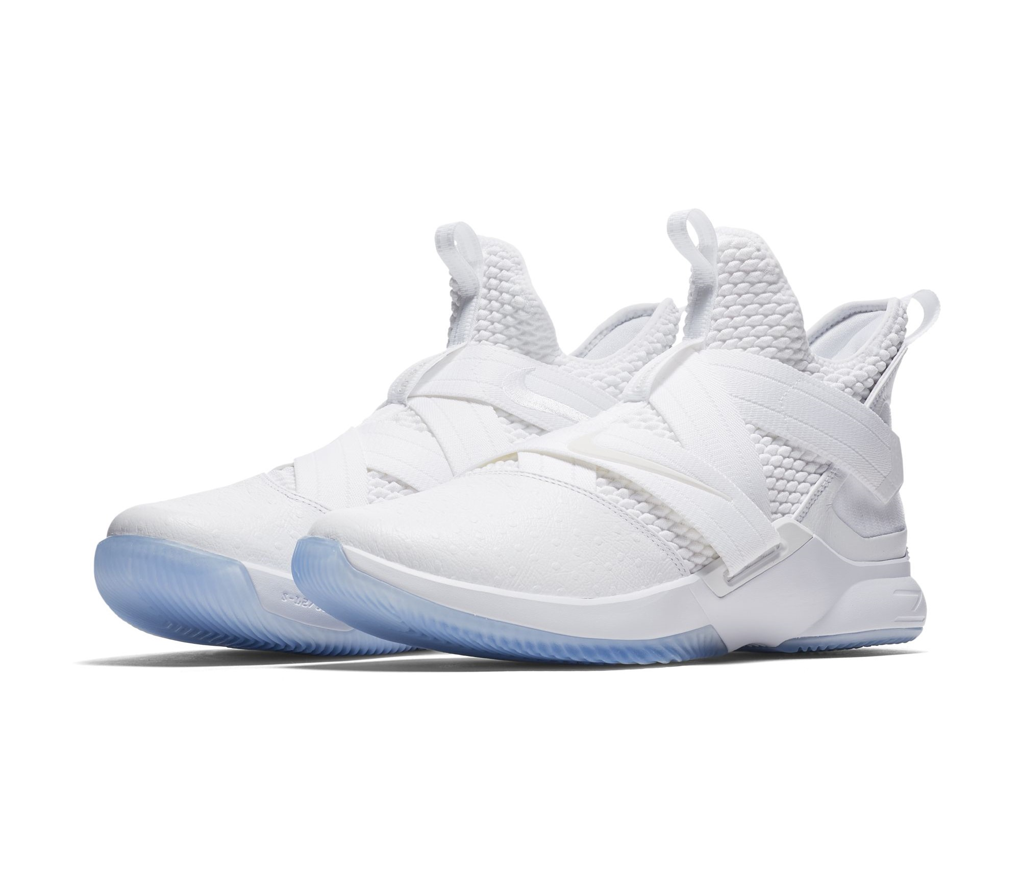 newest 3d8c2 ad21d The Nike LeBron Soldier 12 'Triple White' Releases Next ...