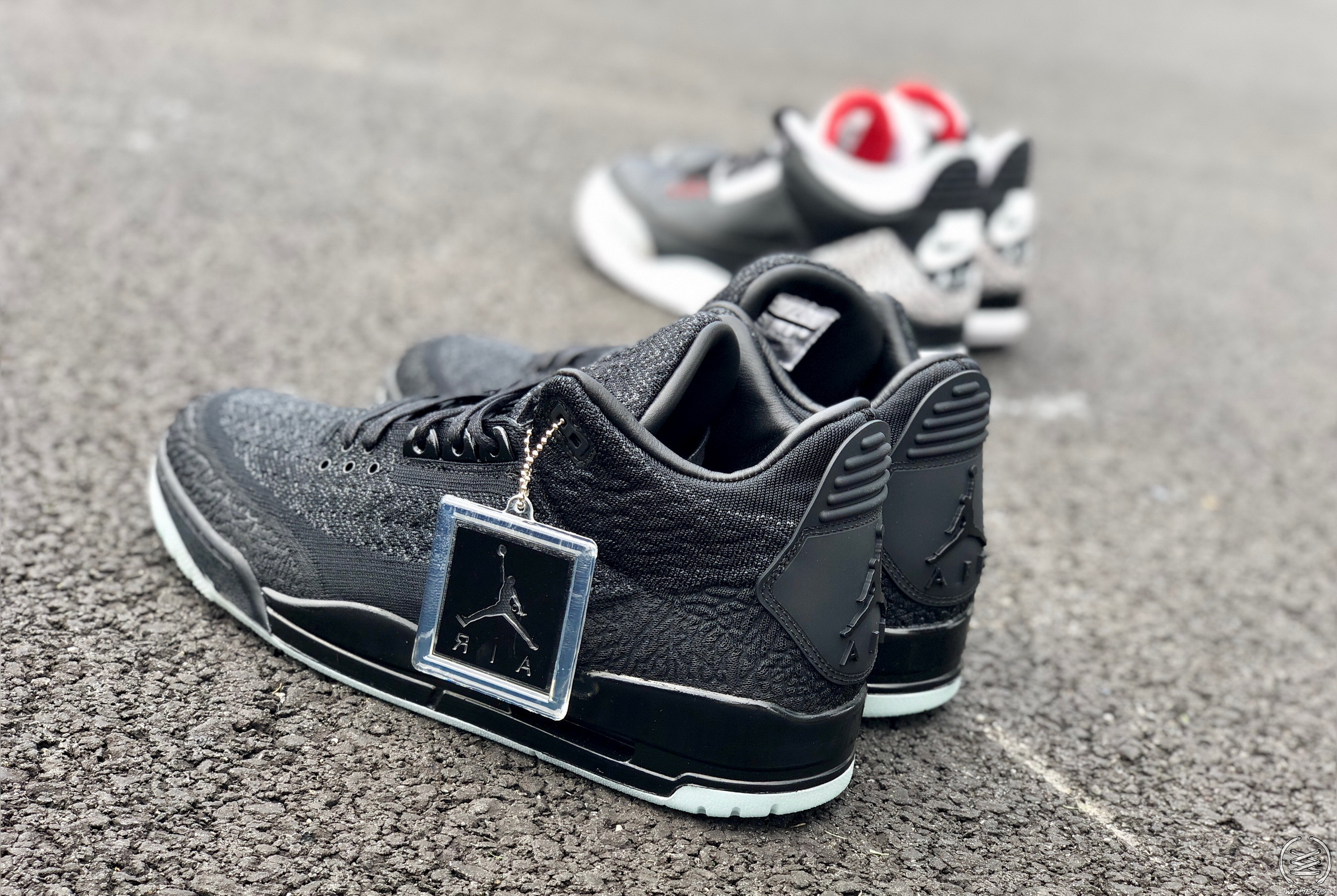 on sale 02411 0a8d8 Air Jordan 3 Flyknit 'Black/Anthracite' Review | Stanley T ...
