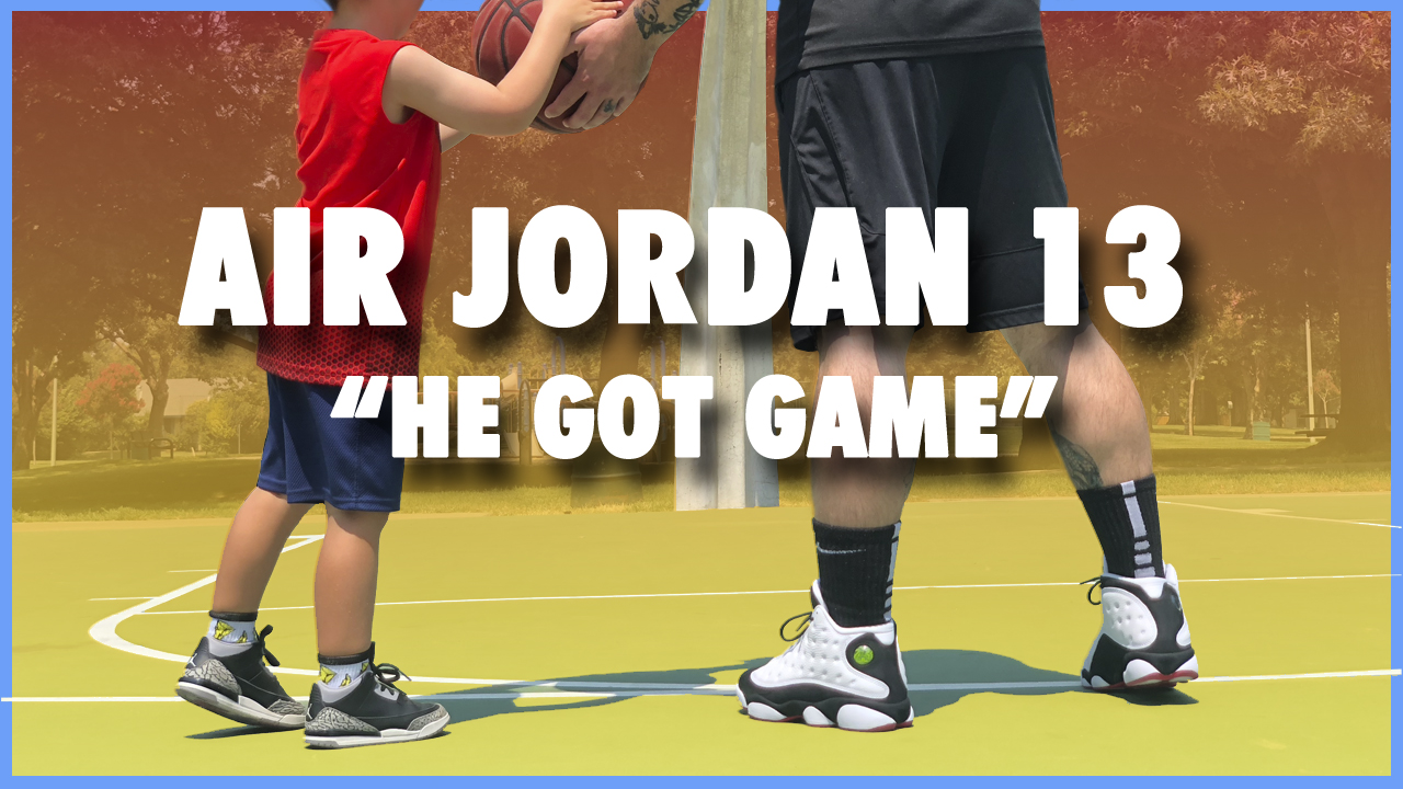 huge discount 0e78d 034e7 Air Jordan 13 'He Got Game' | Detailed Look and Review ...