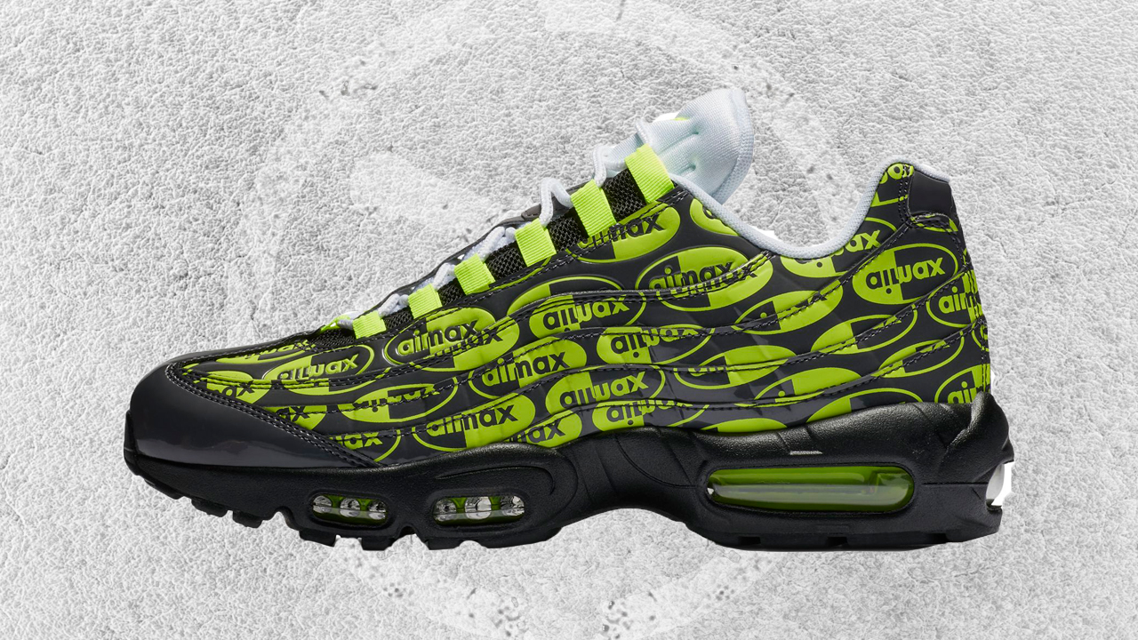 Another Logo Heavy Air Max 95 Colorway is Coming WearTesters