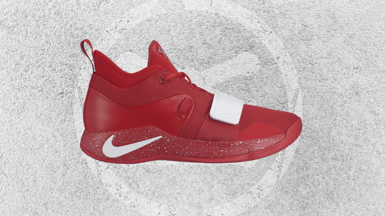 new product 4df77 d4bd8 This Nike PG 2.5 'University Red' is an Homage to Paul ...