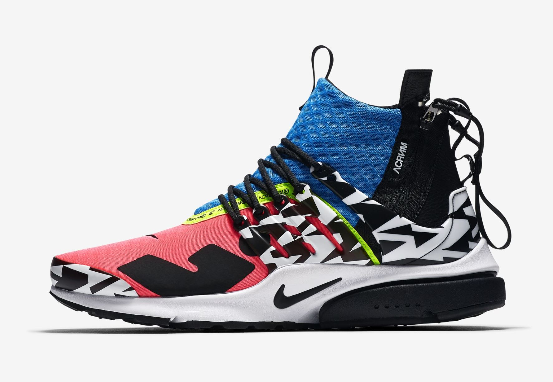 Official Look at a New ACRONYM x Nike Presto Mid for 2018 ...