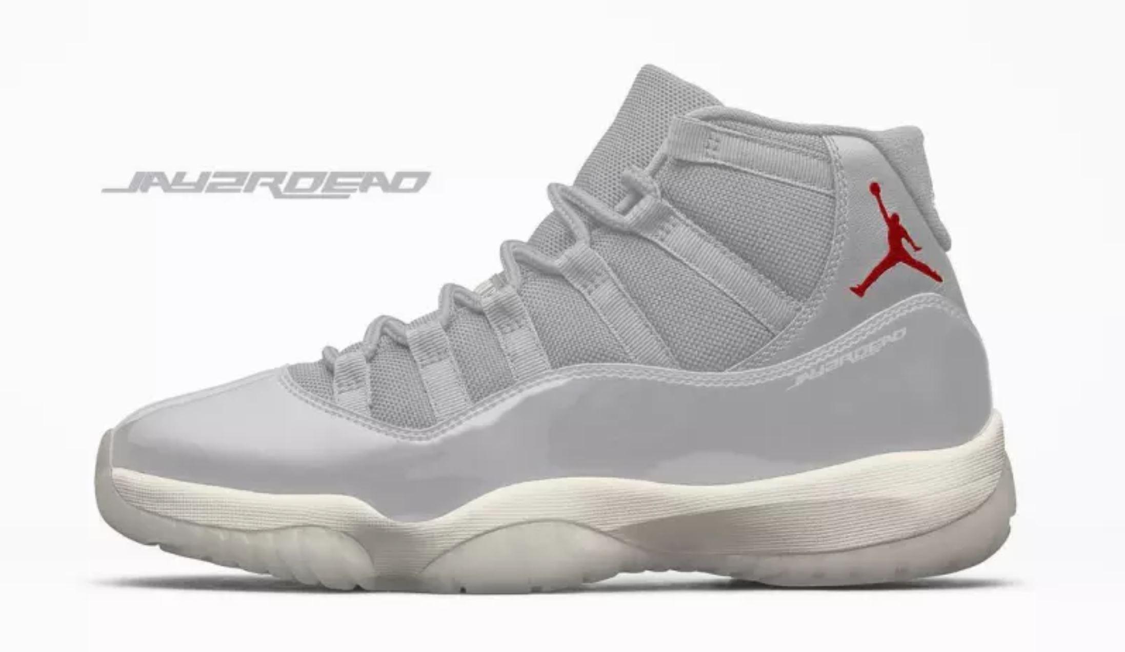 quality design 14ca4 8fe05 New Air Jordan 11 'Platinum Tint' Leaks Online - WearTesters