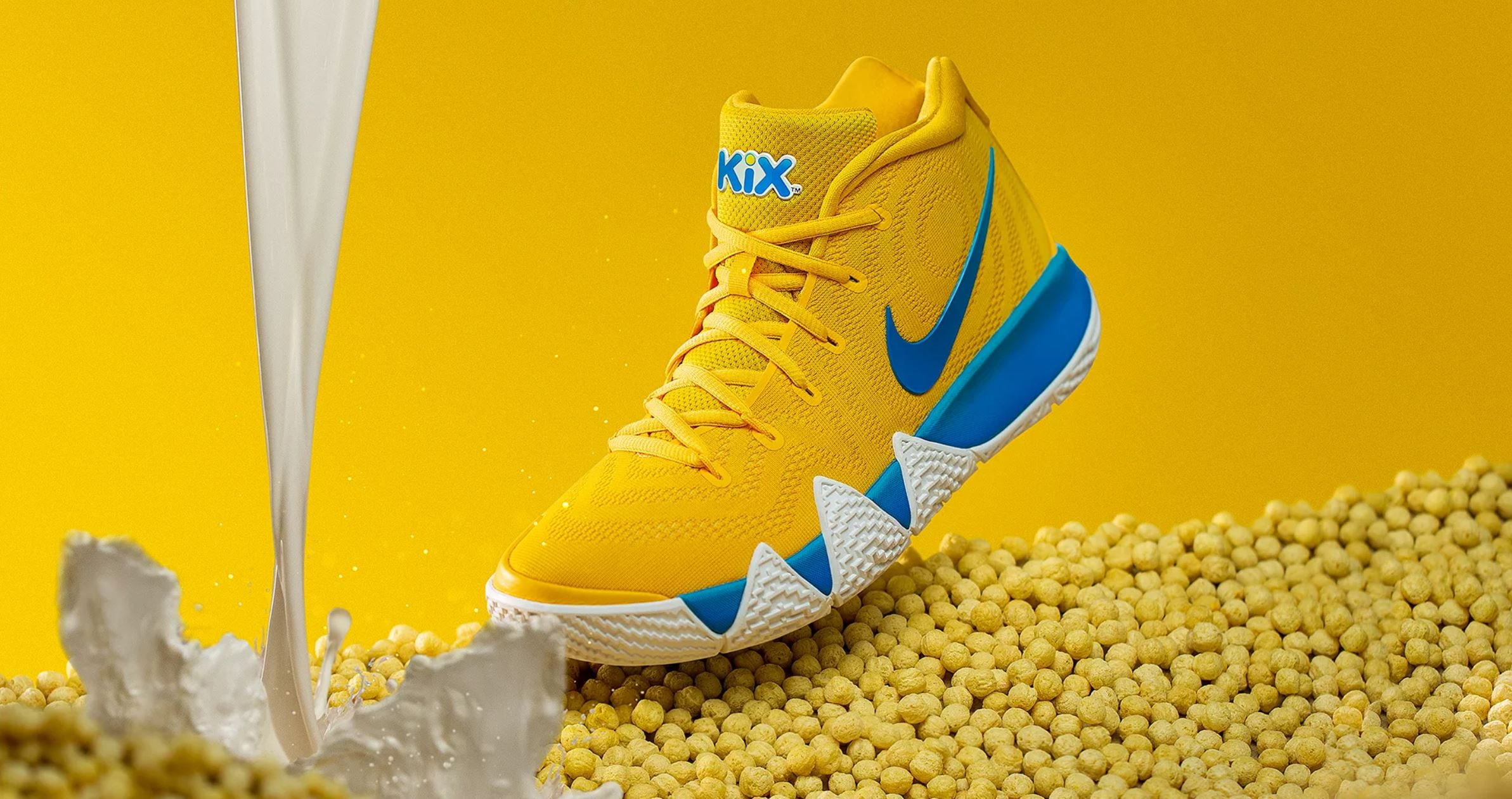 online store 1403d 32978 Nike Unveils Kyrie 4 'Cereal Pack' with Lucky Charms, Kix ...