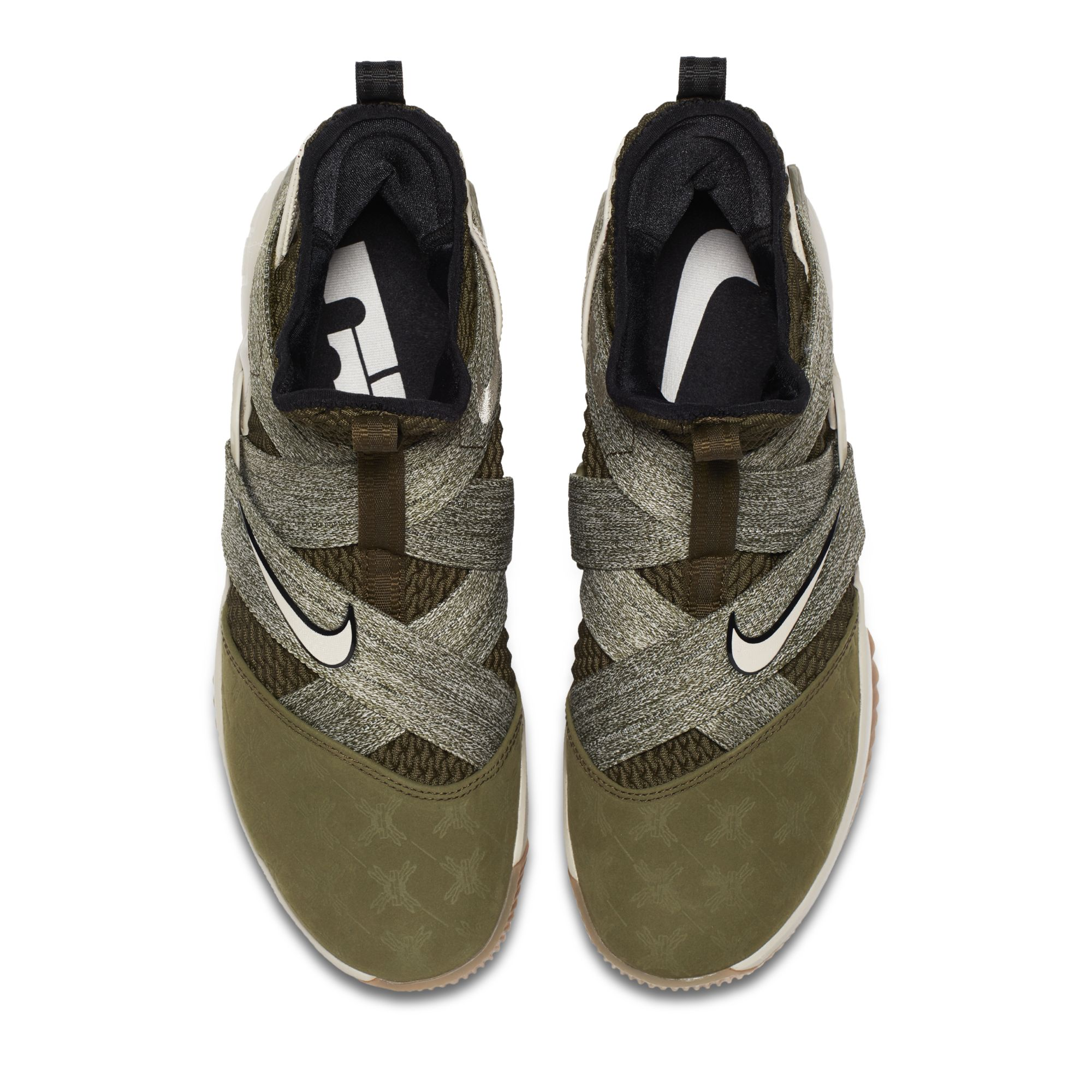 best sneakers b18e4 e999c This Nike LeBron Soldier 12 Gets Debossed Suede Toes ...
