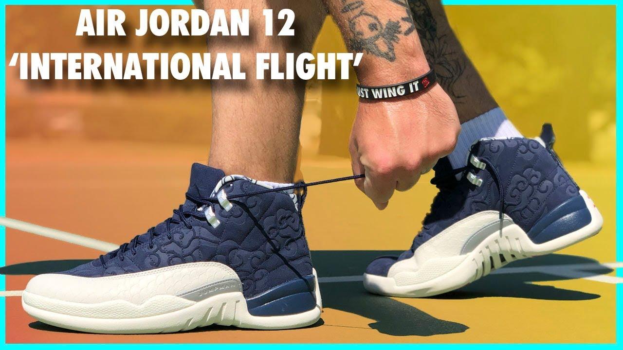 brand new bc0e6 b0ad6 Air-Jordan-12-International-Flight-Review - WearTesters