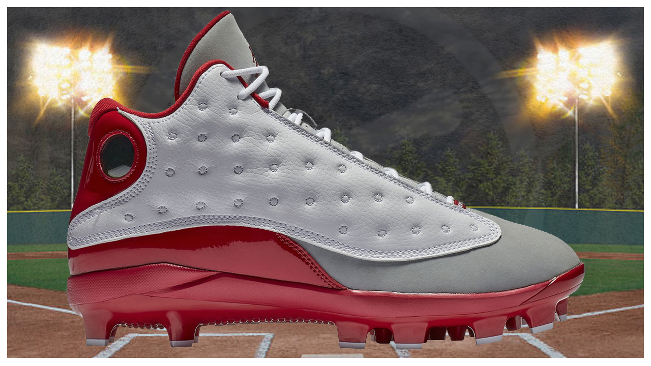 The Air Jordan 13 is Now a Cleat