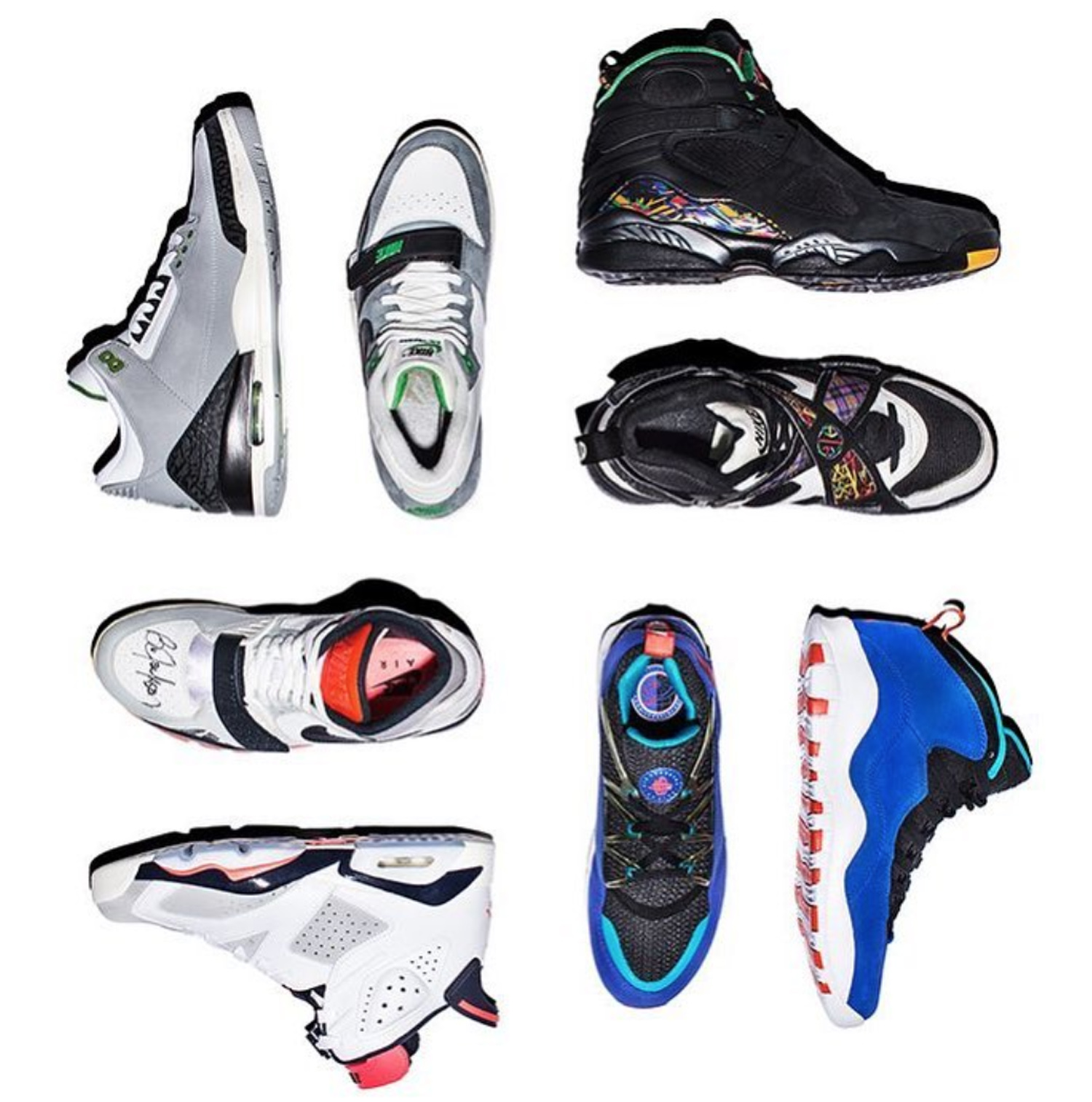 new arrival 2c44a 6158c Jordan Brand Draws Inspiration From Some of Tinker ...