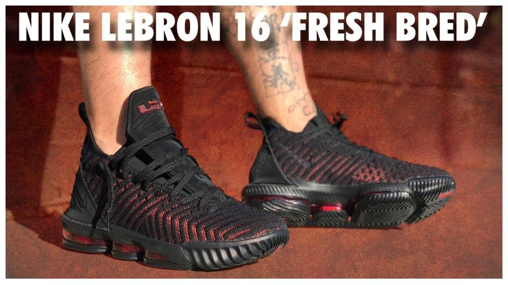 save off 5f9a8 b3d30 Nike LeBron 16 'Fresh Bred' | Detailed Look and Review ...