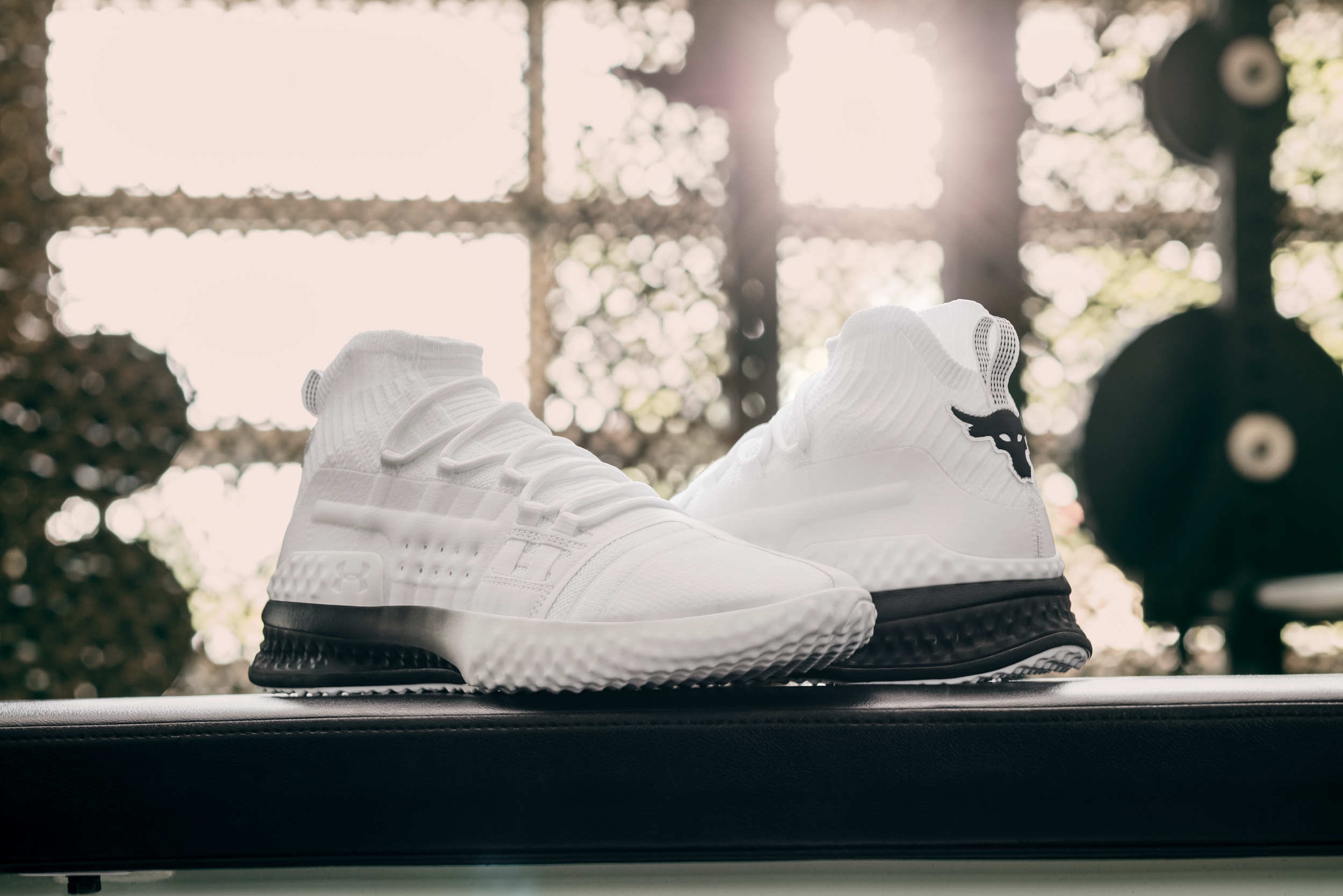 project rock 1 shoes white