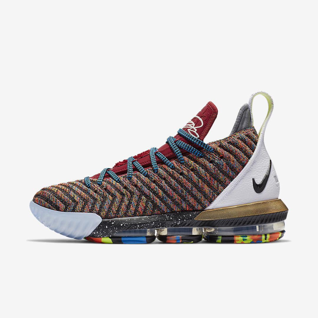 reputable site a0911 ed1cc The What The LeBron 16 ('1 Thru 5') Releases Tomorrow ...