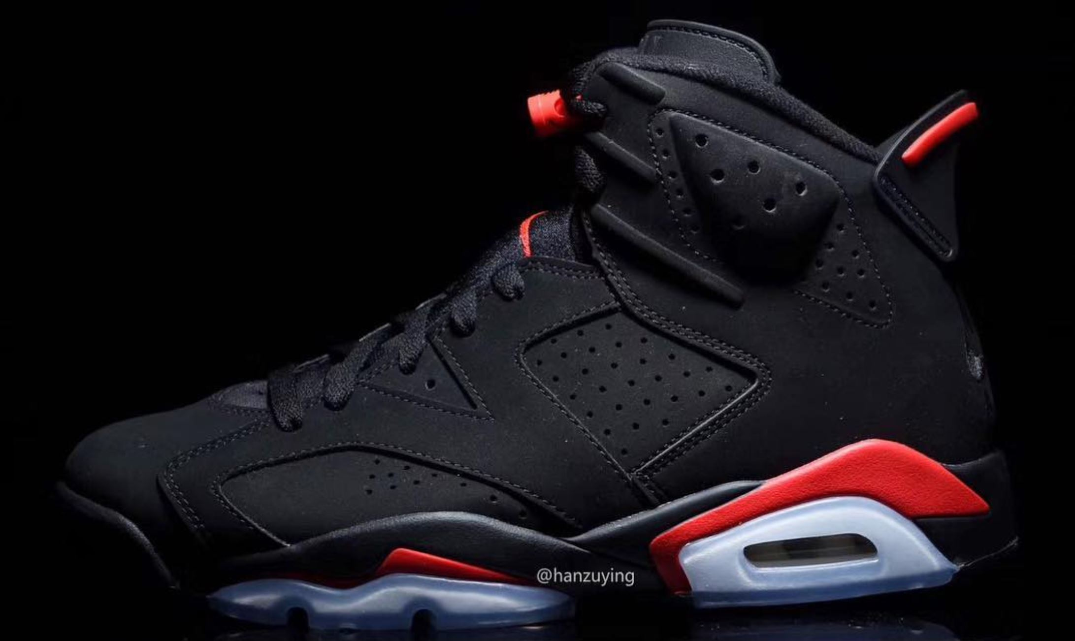 separation shoes 04db8 962aa The Air Jordan 6 'Black Infrared' to Release in February for ...
