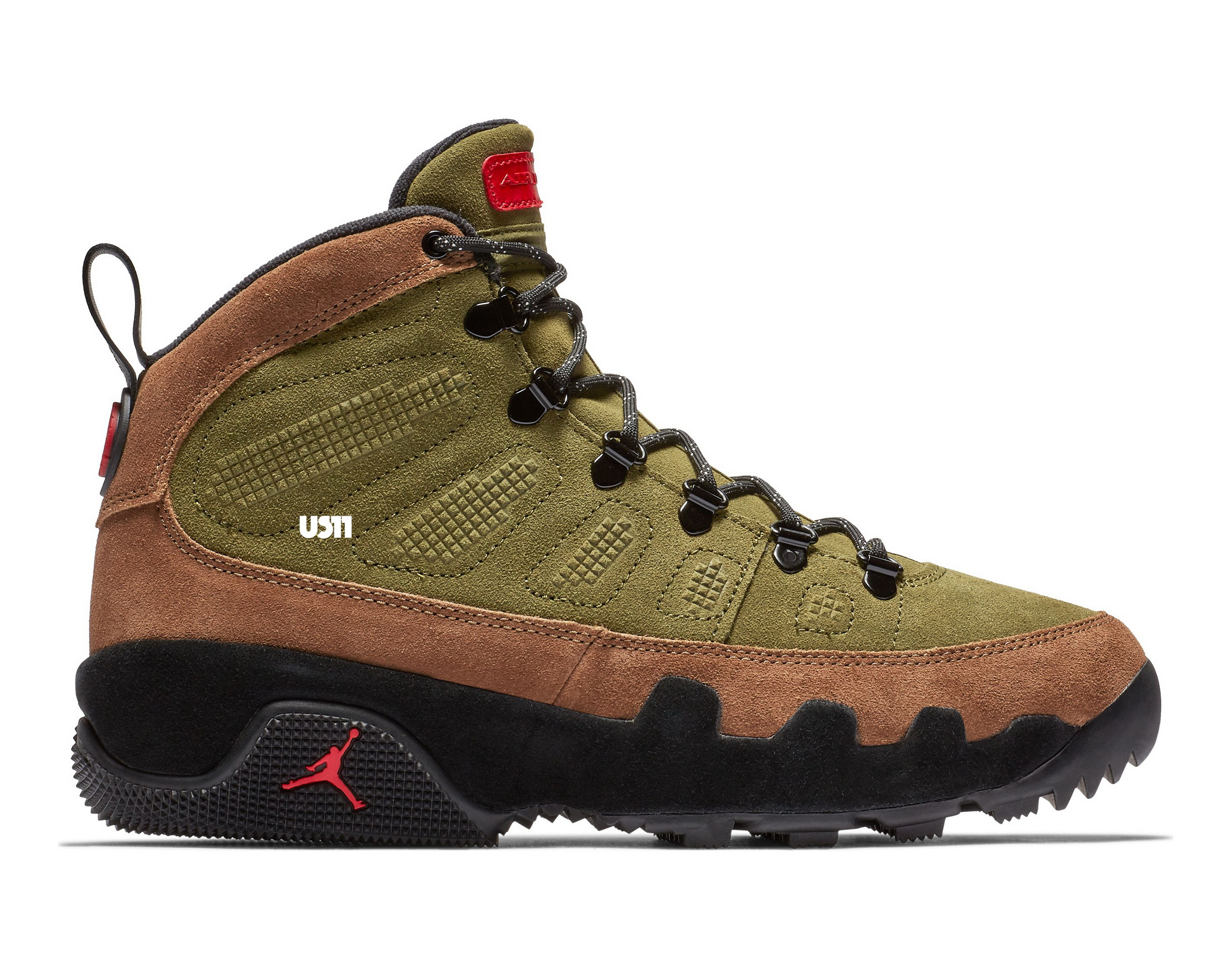 first rate 1b8e4 00c8b Prep for Winter with the Air Jordan 9 Boot NRG 'Olive ...