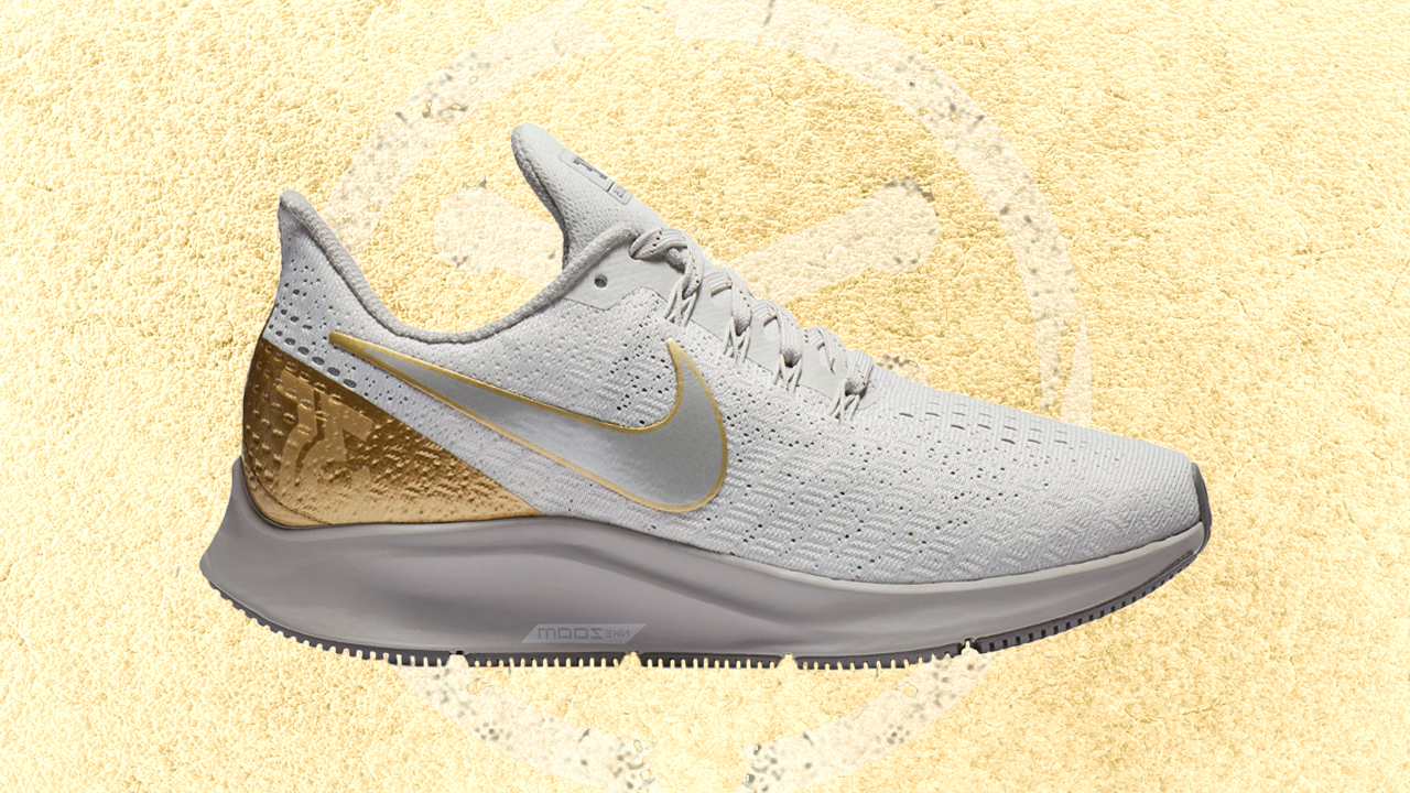 meet d12a3 84dd6 Golden Nike Air Zoom Pegasus 35 Dropping for Women - WearTesters