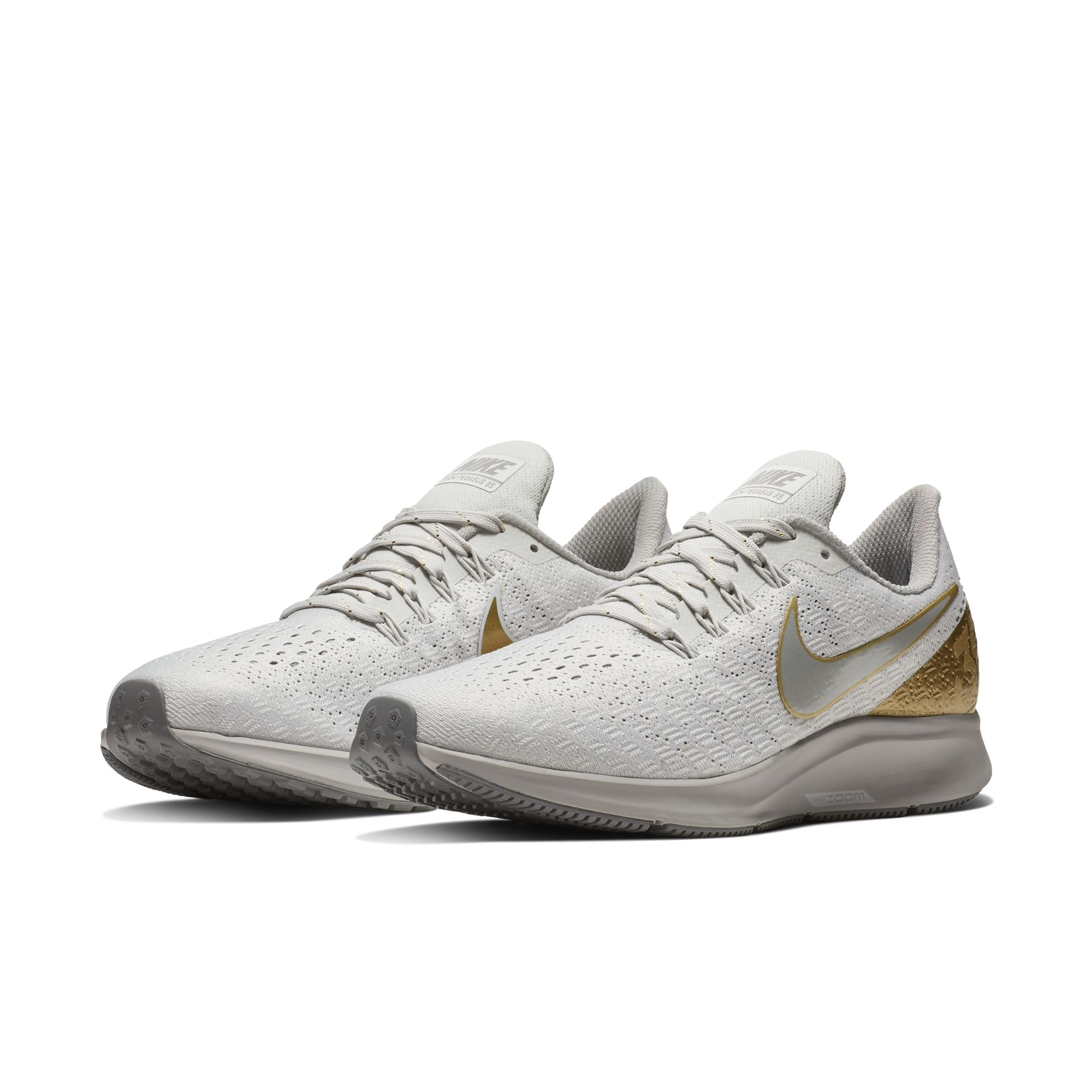 superior quality d7b35 57725 NIKE WMNS AIR ZOOM PEGASUS 35 PRM VAST GREY:MTLC PLATINUM ...