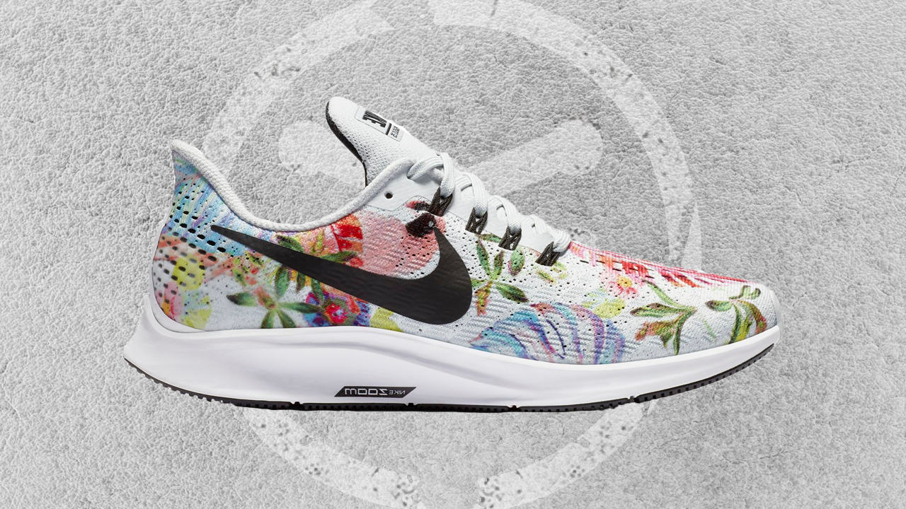 big sale 38562 549ea Ladies Get a Floral Air Zoom Pegasus 35 for Fall - WearTesters