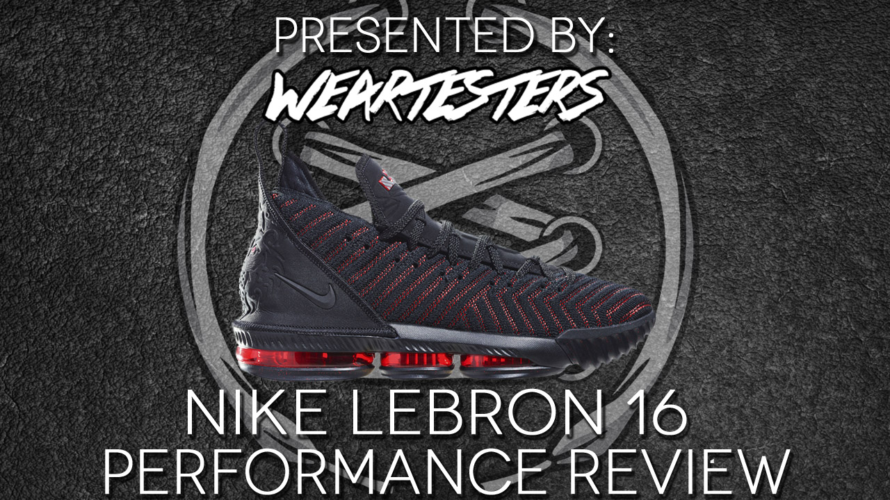 official photos 42968 fff1a Nike LeBron 16 Performance Review - WearTesters