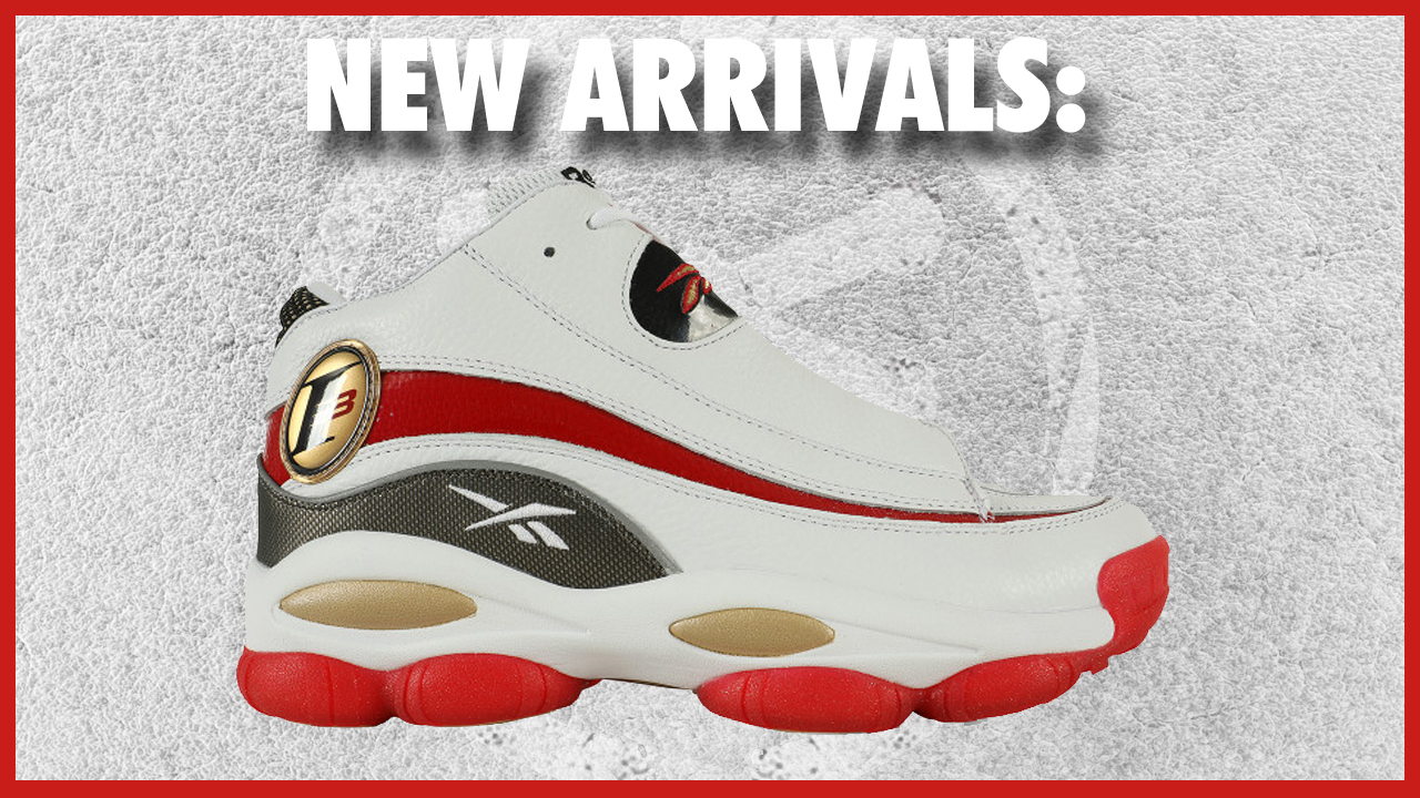 The Reebok Answer 1 White/Red Has