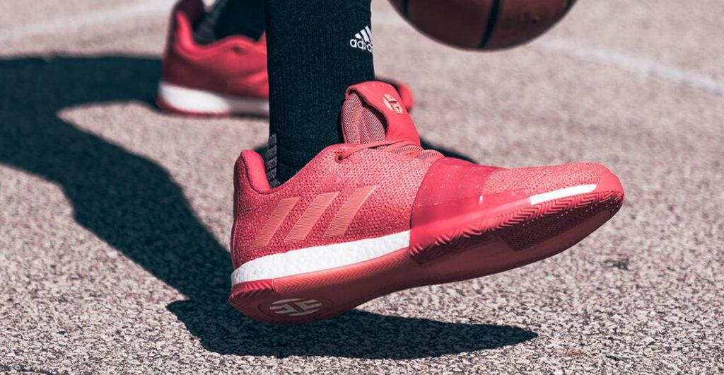 392c1d4f345 James Harden s adidas Harden Vol 3 Has Dropped in Rockets Colors -  WearTesters