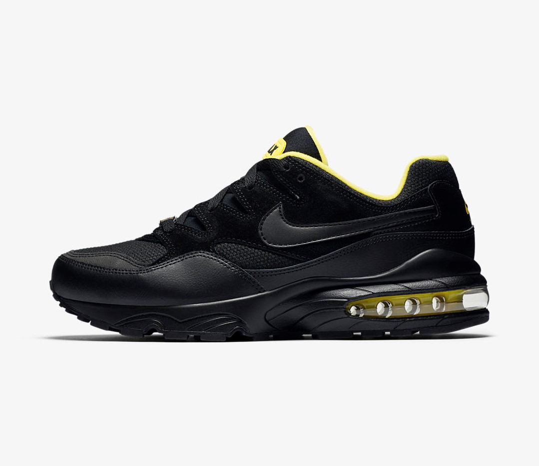 Black and Yellow Air Max 94s are Coming Soon WearTesters