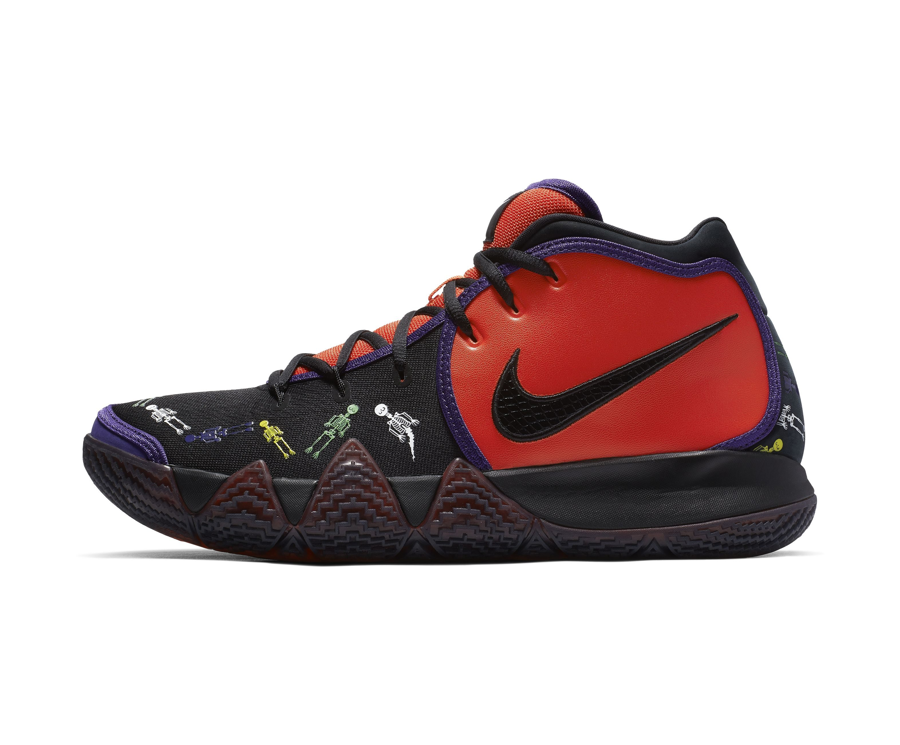 the best attitude 34db9 6d8c2 Kyrie 4 'Day of the Dead' Quickstrike for Halloween Surfaces ...