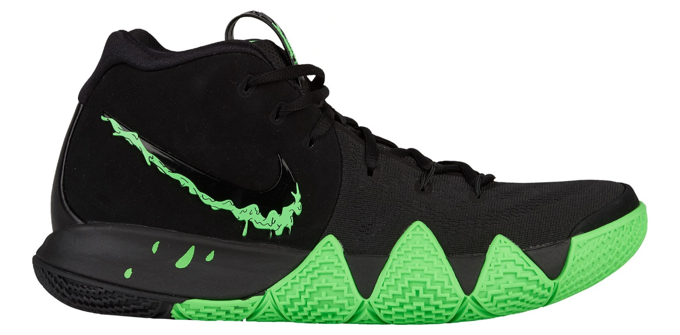 351df206f1182 Kyrie Irving's Kyrie 4 'Rage Green' for Halloween is Available Now ...