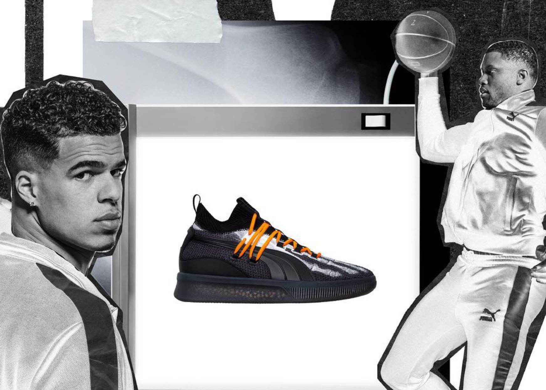 brand new fca8f 4a946 puma clyde court disrupt xray halloween - WearTesters