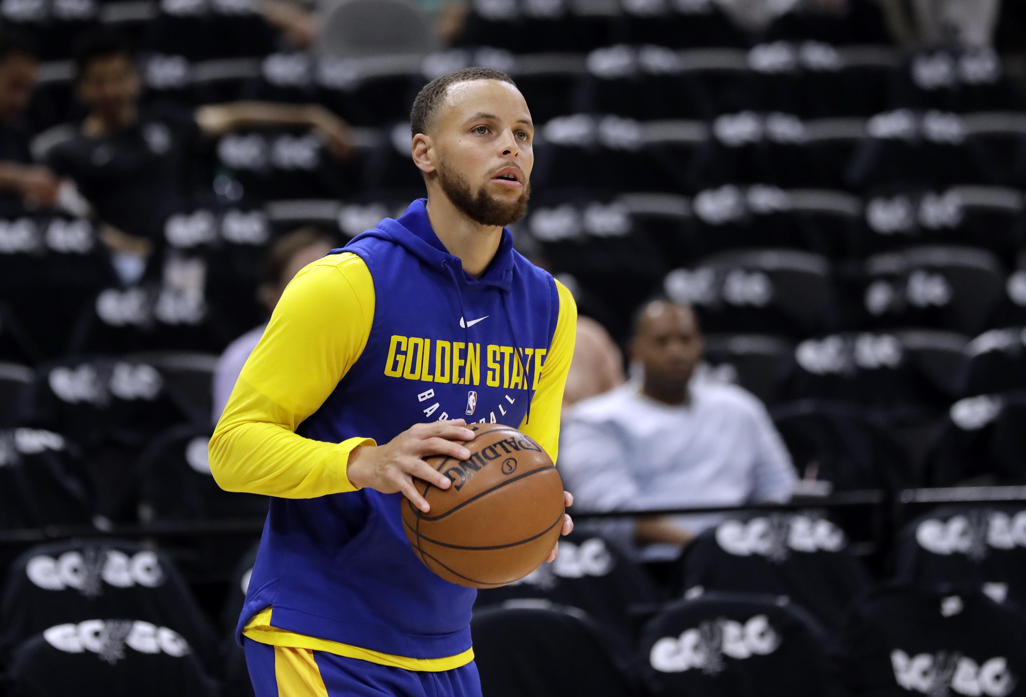 Steph Curry Wears Possible Curry 6 at