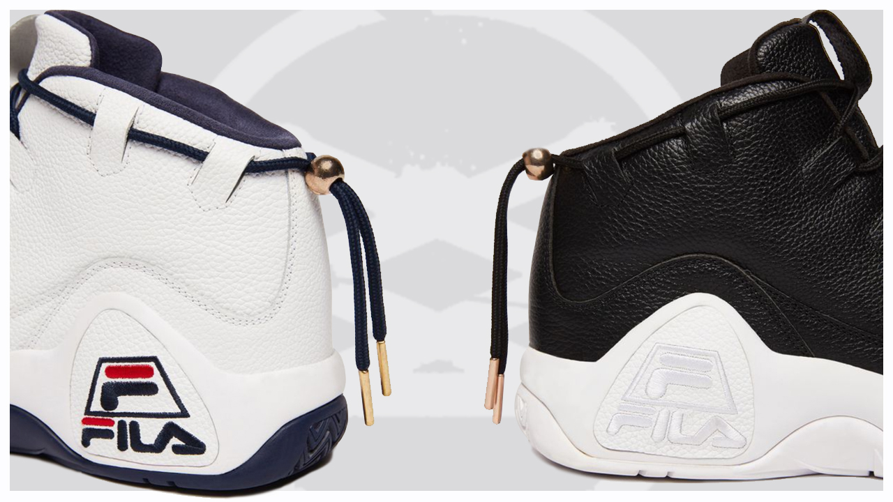 FILA Remixes Grant Hill's First Signature Sneaker with the