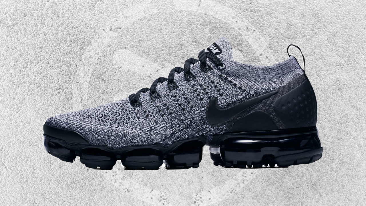 NIKE AIR VAPORMAX FLYKNIT 2 BLACK WHITE FEATURED IMAGE