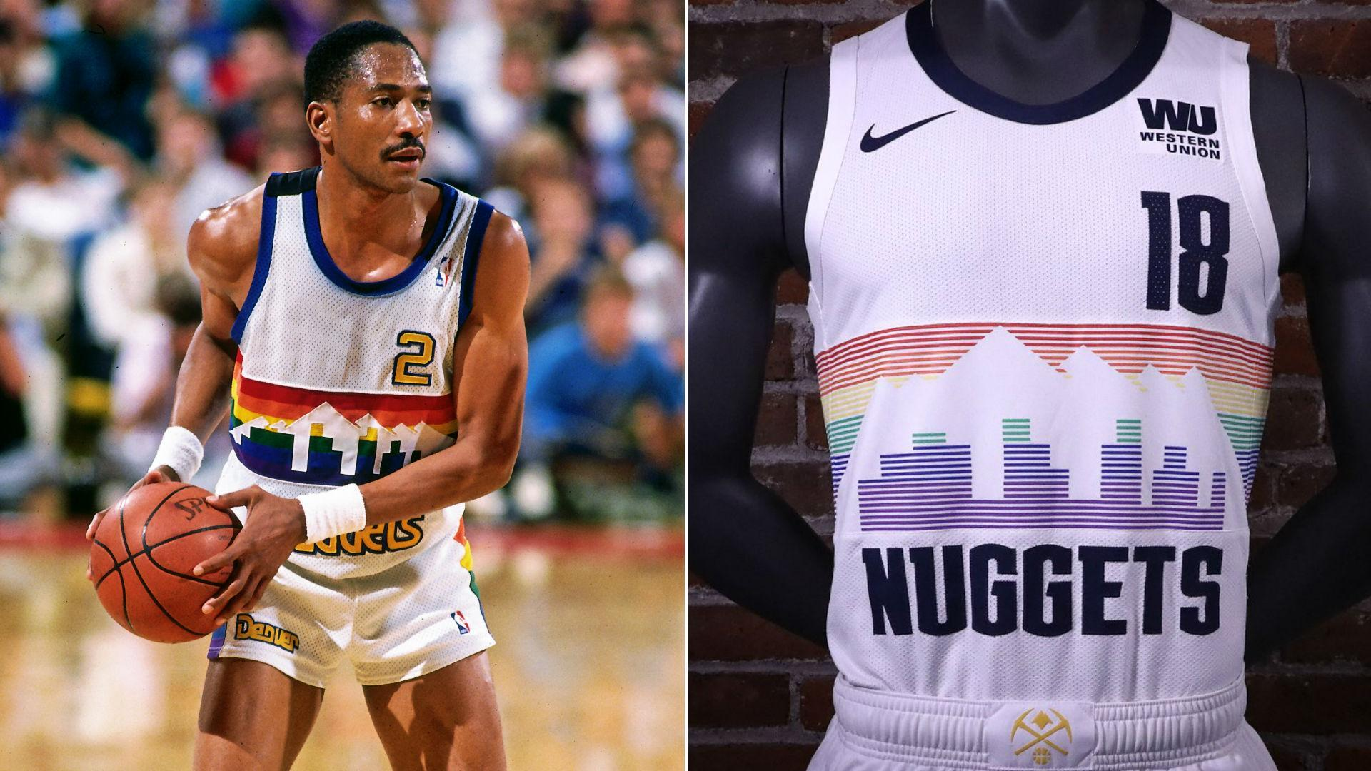 best loved 49b32 0468e New Nike NBA City Edition Uniforms for the Nuggets, Wolves ...