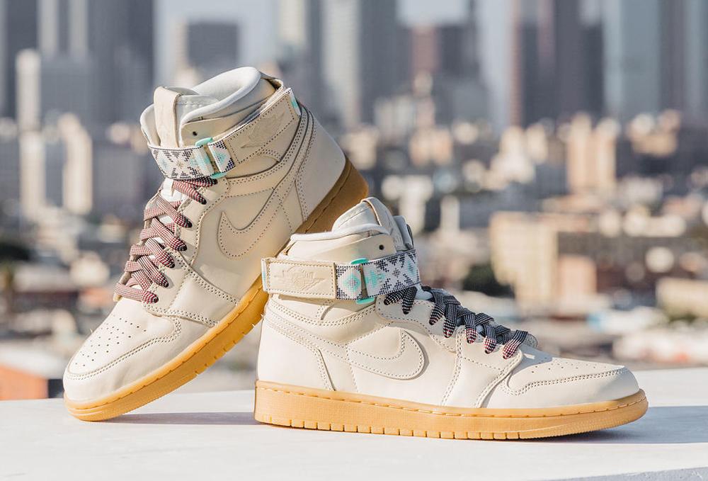 half off 57a9f fa0c2 The Air Jordan 1 High Strap Returns as Part of the Nike N7 ...