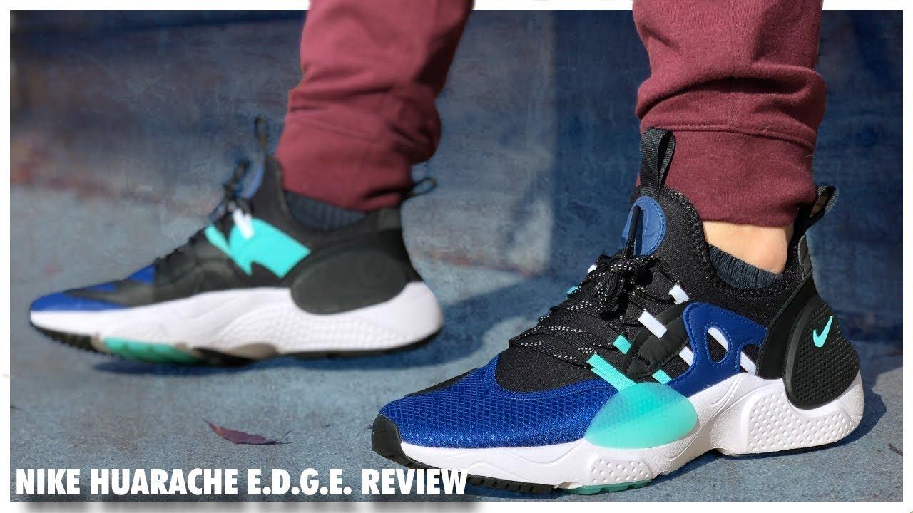 Review of the Nike Huarache EDGE