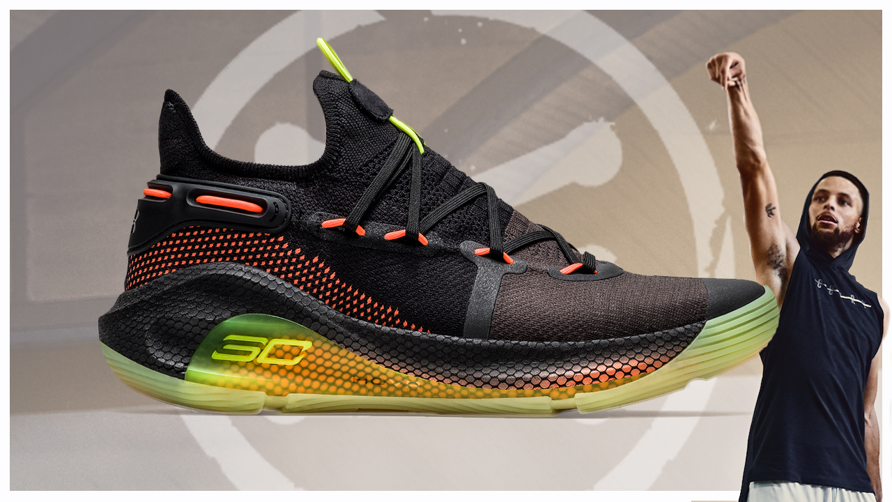 new arrivals 94cef 7cb53 Under Armour Officially Unveils the Curry 6 with the 'Fox ...