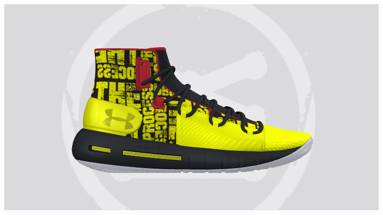 newest d6e21 76550 Joel Embiid's 'The Process' Under Armour HOVR Havoc is ...