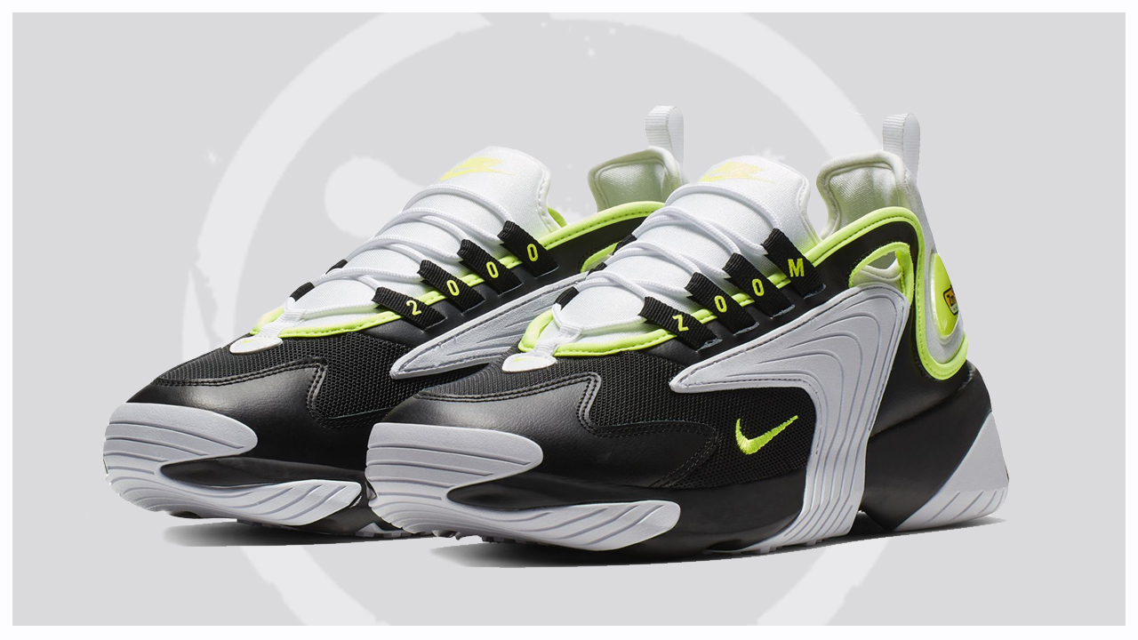 The Nike Zoom 2K Appears in Black/Volt-White - WearTesters