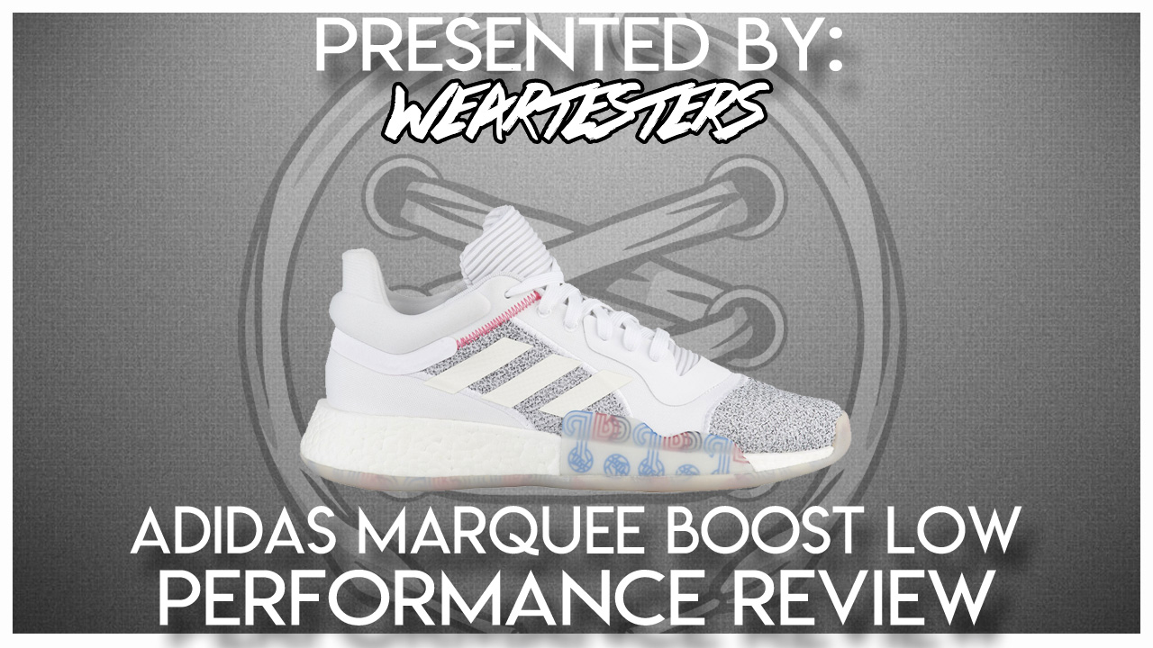 adidas Rubber Marquee Boost Low Basketball Shoe for Men