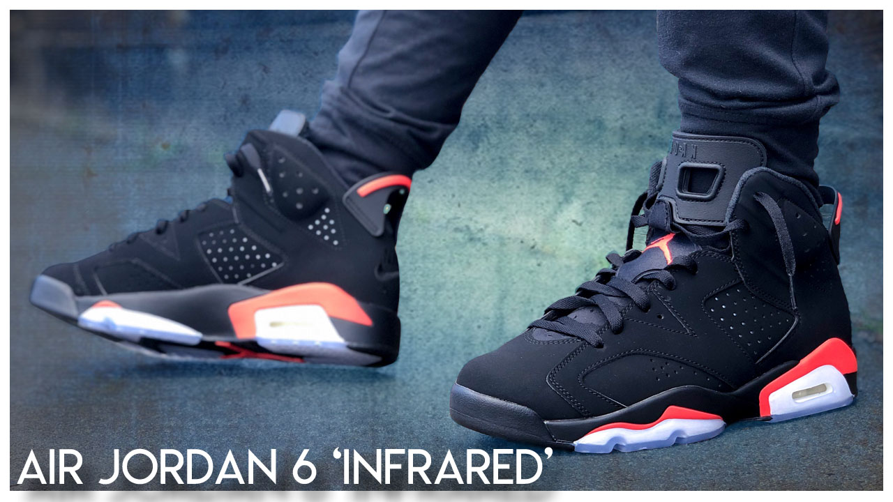 size 40 37a26 9184f Air Jordan 6 'Infrared' 2019 | Detailed Look and Review ...