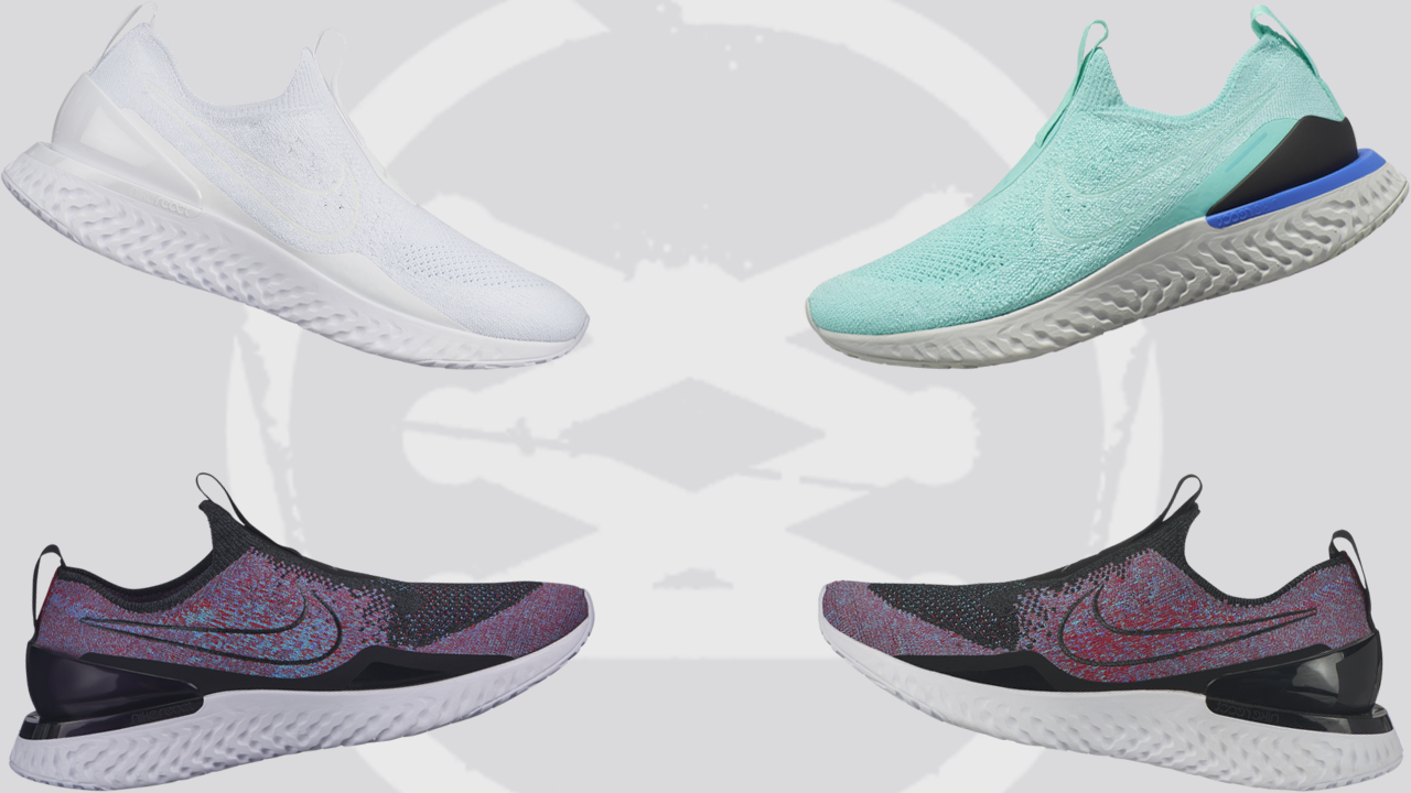 Hecho de Decorar Coincidencia  The Nike Epic Phantom React Flyknit Goes Laceless - WearTesters