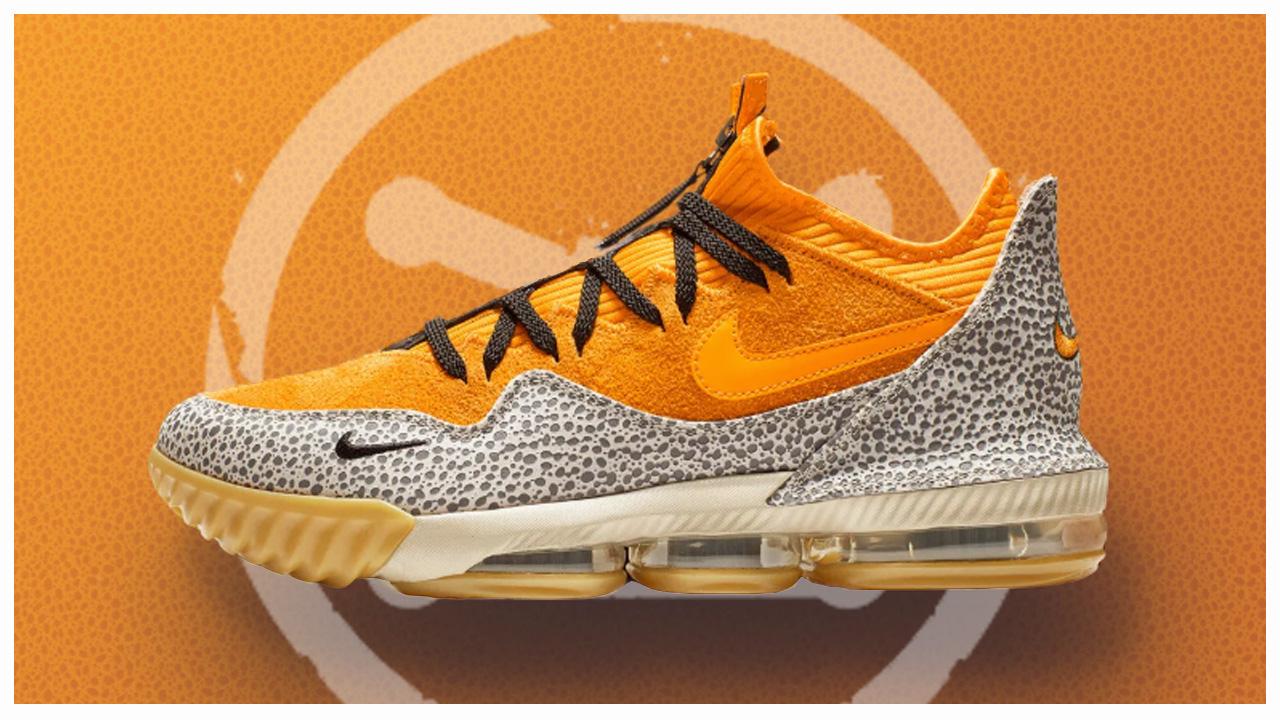 Nike LeBron 16 Low 'Safari' - WearTesters