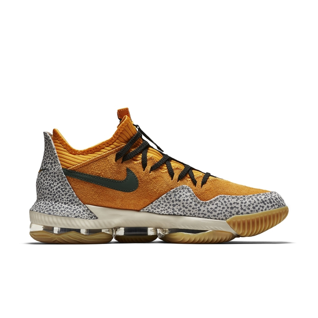 big sale 02ba0 be942 An Official Look at the Nike LeBron 16 Low 'Safari ...