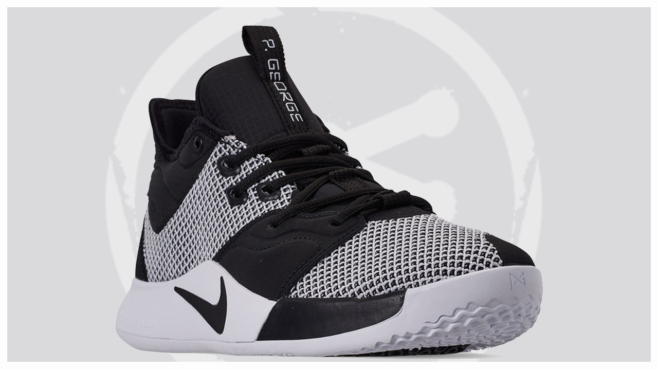 The Nike PG3 in Black/White Releases in