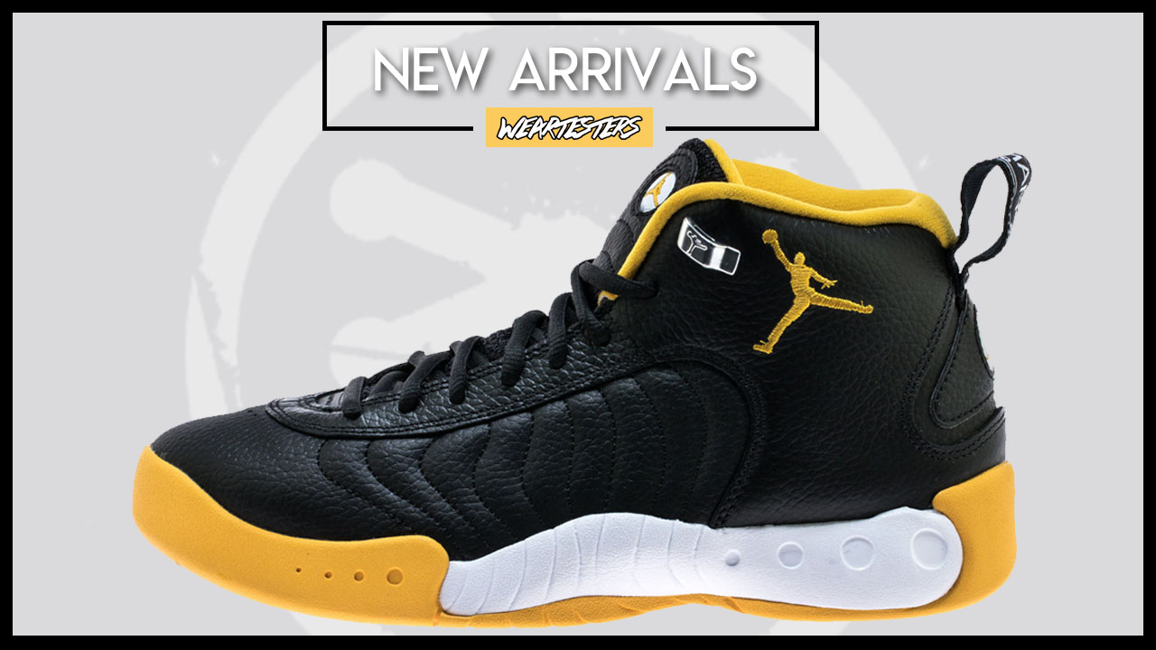 online store 9ef8d 6e239 The Jordan Jumpman Pro is Now Available in Black/Yellow ...