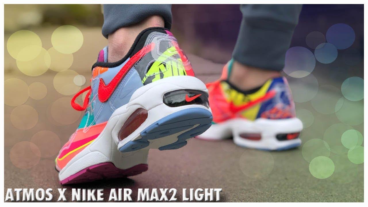 Atmos X Nike Air Max2 Light | Detailed
