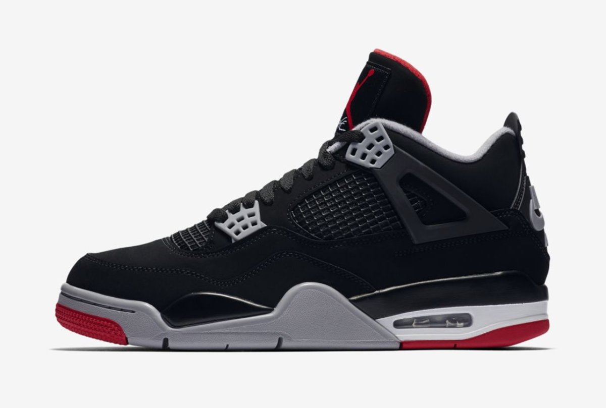 the best attitude d486d e07f3 An Official Look at the Nike Air Jordan 4 in Black/Cement ...