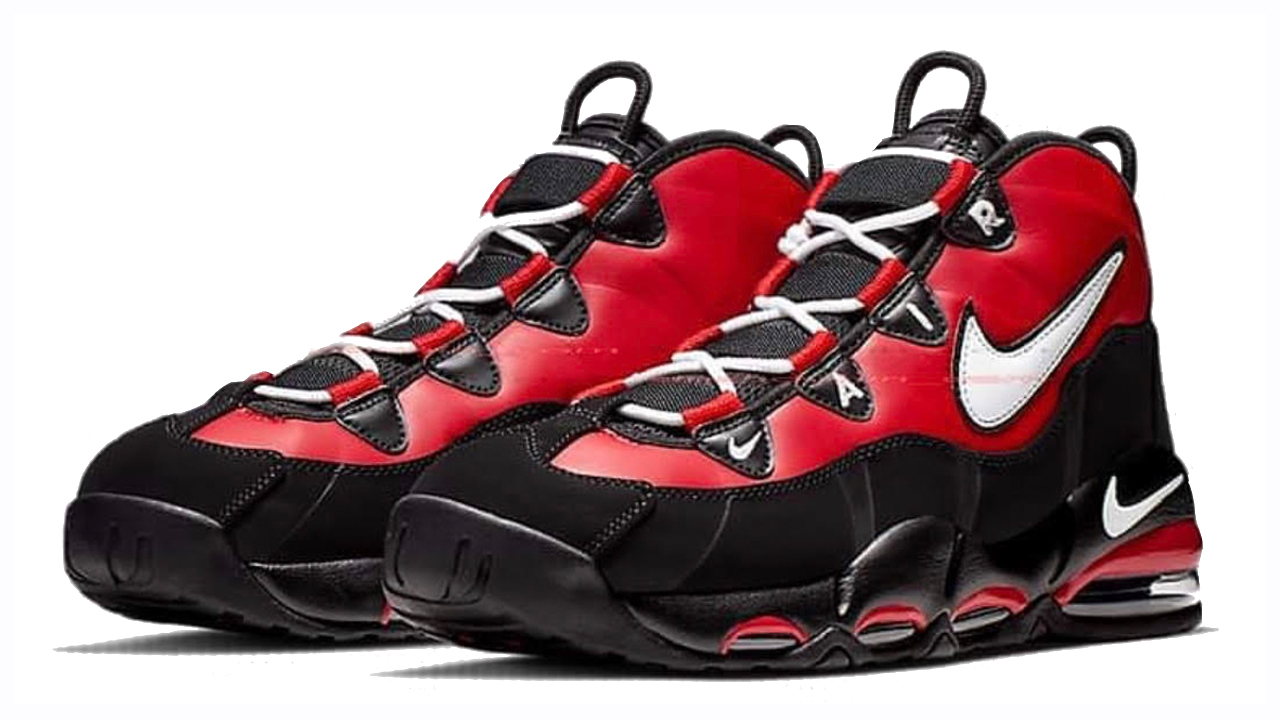 quite nice 7b206 e7c47 The Nike Air Max Uptempo 95 Appears in 'Black/Red' - WearTesters