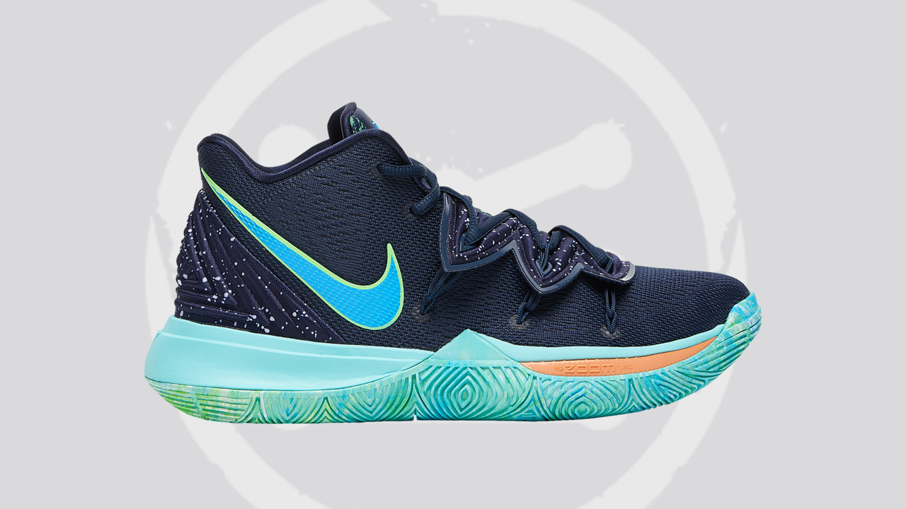 An Easter-themed Nike Kyrie 5 is on the